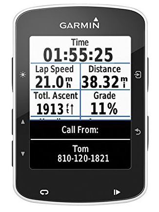 Garmin Edge 520 - This bike computer delivers live-time updates to Strava, displays your power output when connected to a power meter, recored elevation changes, heart rate, distance, speed, etc, and defines your fitness level while you ride. Connect this to your iPhone or smartphone for seamless uploads and updates.