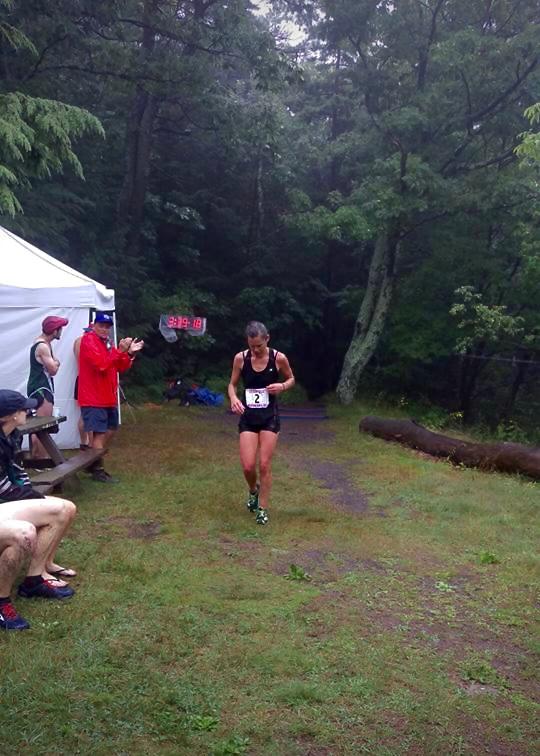 Kehr Davis winning her 2nd consecutive Escarpment!