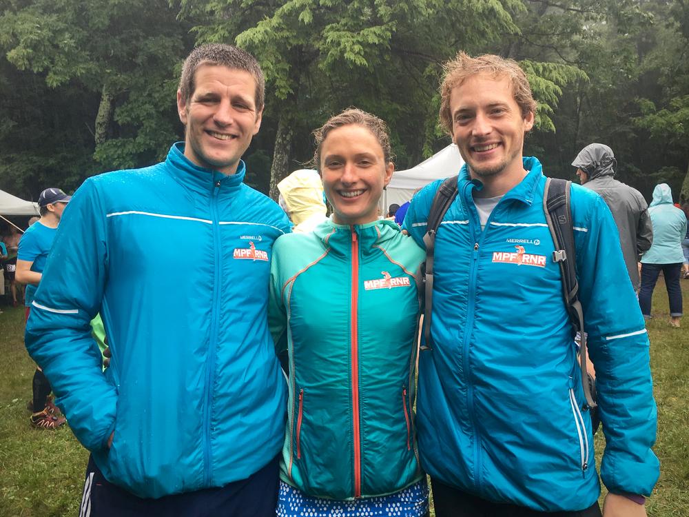 Iain, Natalie Thompson and Matthias wearing their Merrell Enthermic Jackets!http://amzn.to/2aBvbOc