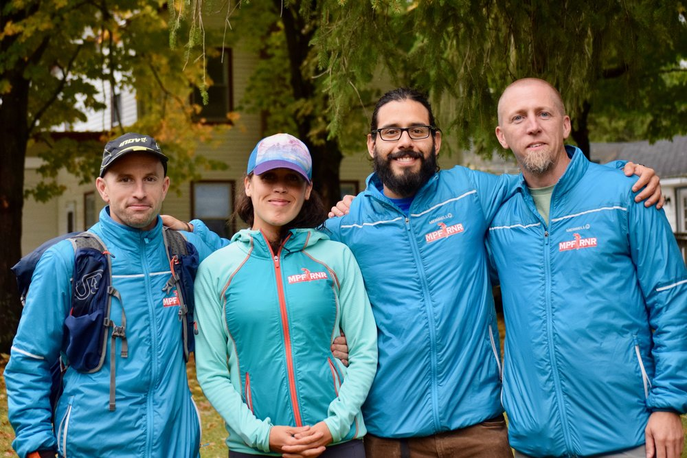 Photo: Tara Siudy - With MPF RNR Teammates Elizabeth, Jay & Mike!