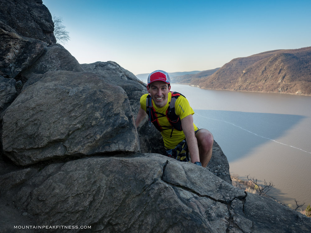 Ed Cullen on Breakneck Ridge!
