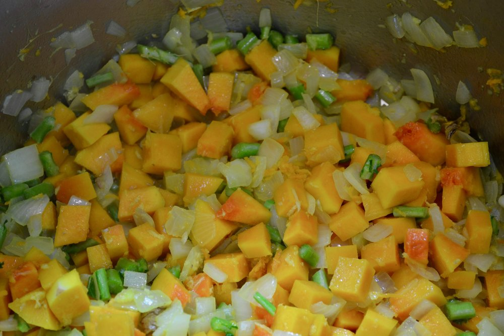 Sauteeing Squash for Miso Stew.jpg