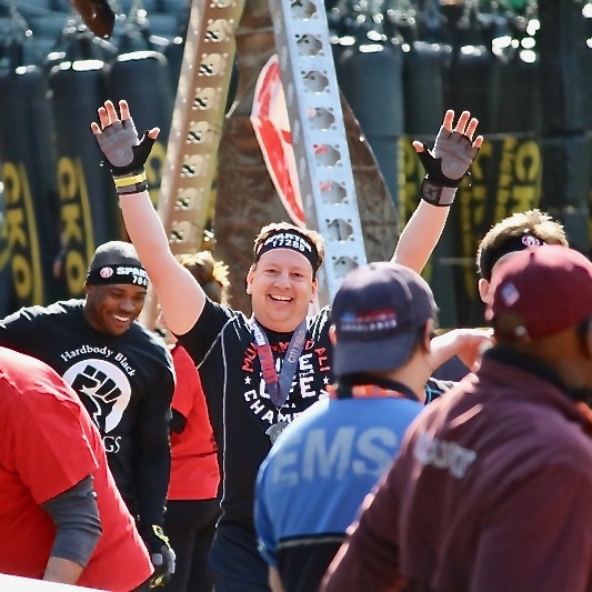 Steve completing his 1st Spartan Race! The 1st of Many to come!