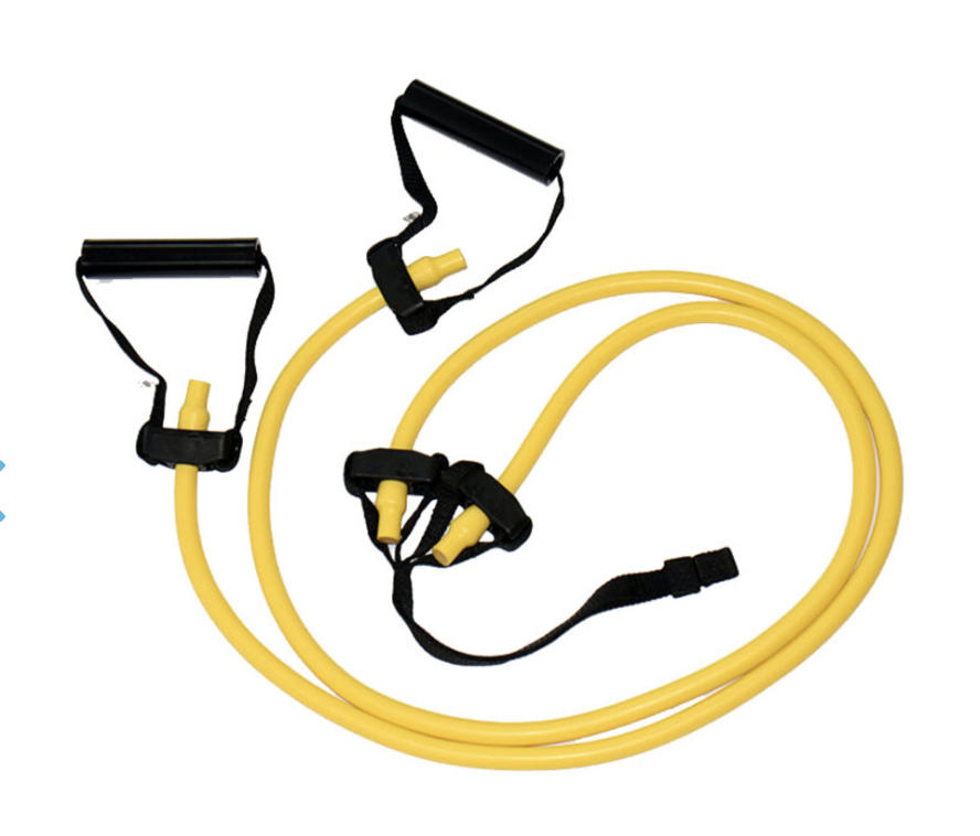 All Purpose Exercise Bands - Along with the bands, purchase a locking Carabiner, click here and 120cm (4ft) or 240 cm (8ft) webbing to wrap around a pole, beam, etc, click here.