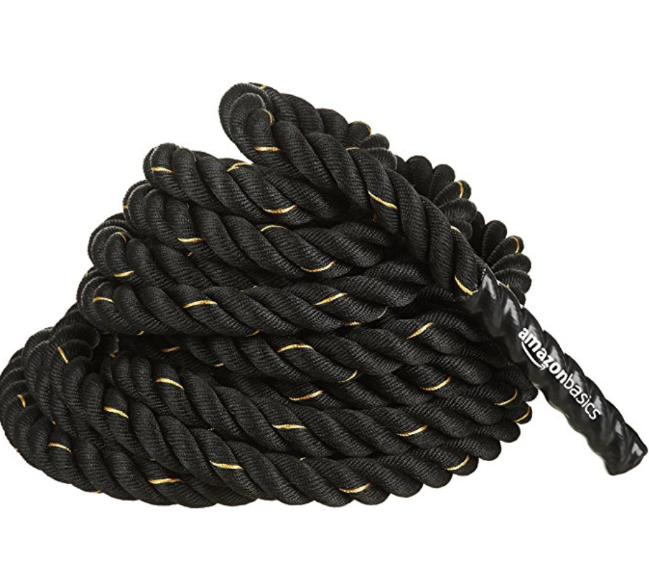 Battle Training Rope - 1.5 Inch Black Training Rope 50ft - Rope training is an intense conditioner for your aerobic and anaerobic systems. Its also a great way to enhance your grip strength as well as your functional and core strength. Click here to watch some movements performed with the ropes. There are many models to chose from. I personally like the feel of the manila ropes (viewed in the picture) but they are only for outside use because they do fray a lot.