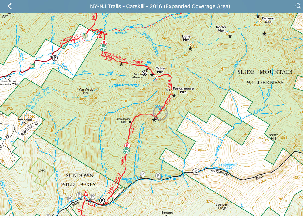 New York New Jersey Trail Conference Maps