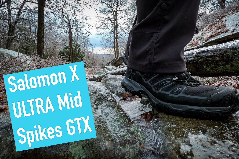 Abiti giurare Rodeo  Review of the Salomon X Ultra Mid 2 SPIKES GTX — Mountain Peak Fitness