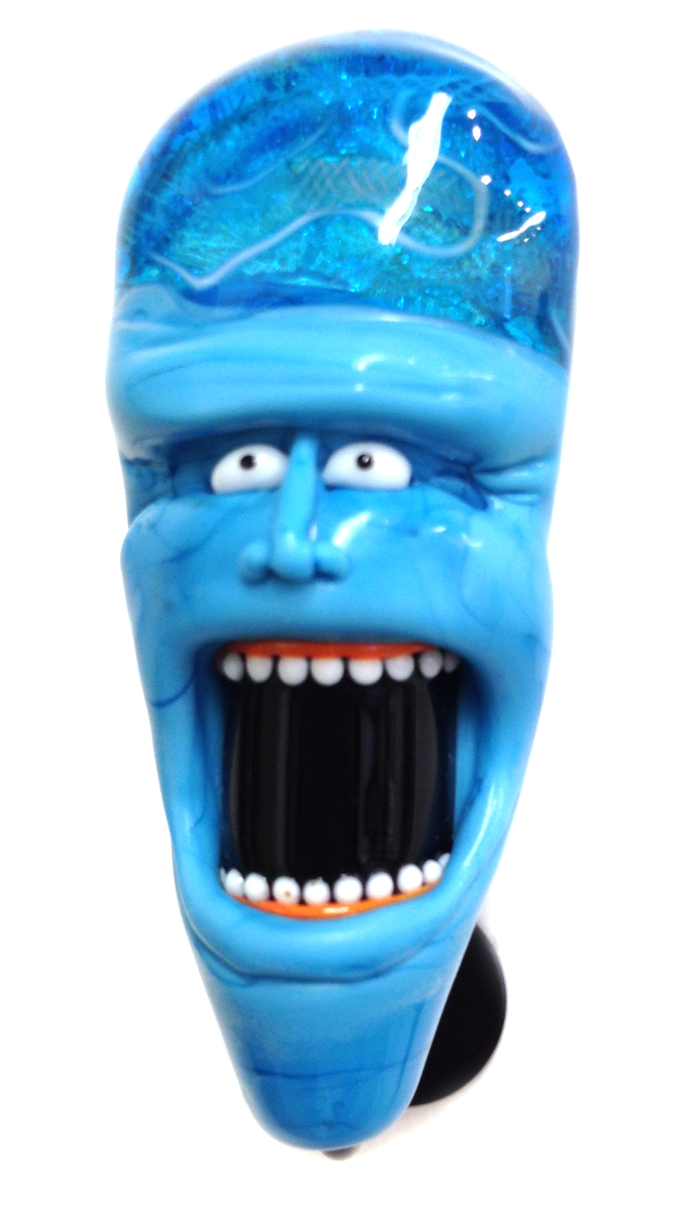 Mr Screaming Bluehead - KarenWoodwardStudios.com