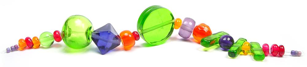 JillSymons.com Lampwork Jolt of Color - $70
