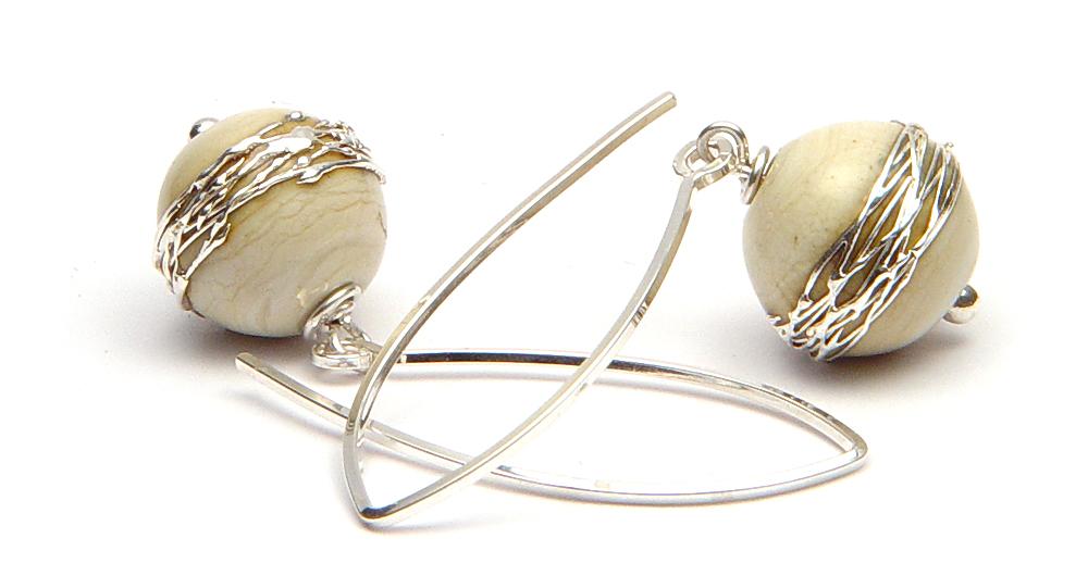 JillSymons.com Lampwork Ancients Earrings - $50