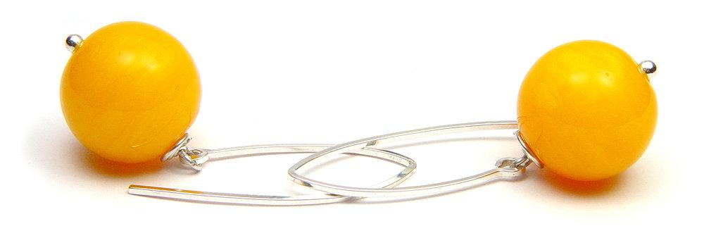 JillSymons.com Lampwork Esparanza Earrings - $45
