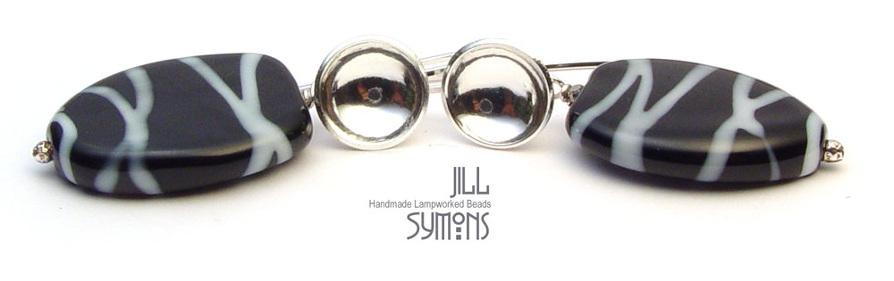 Rhumba B&W Earrings - $50