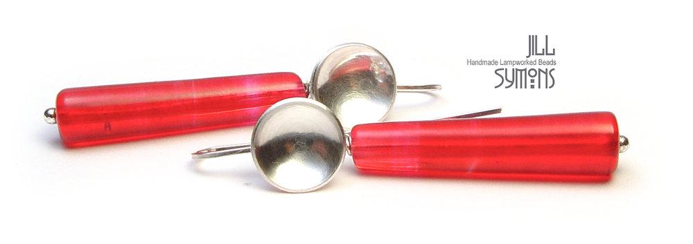 Pink Elegant Earrings - $50