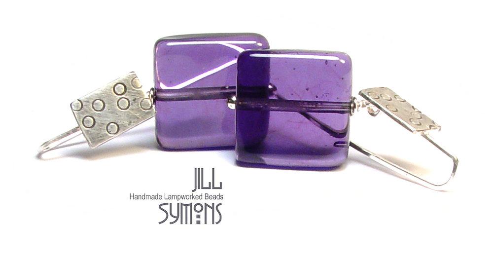 Purple Heaven Earrings - $50 - SOLD