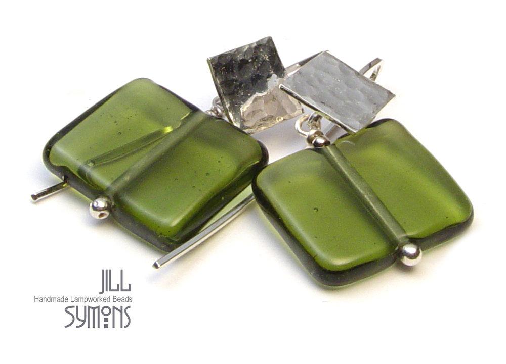 Heavenly Olive Earrings - $50