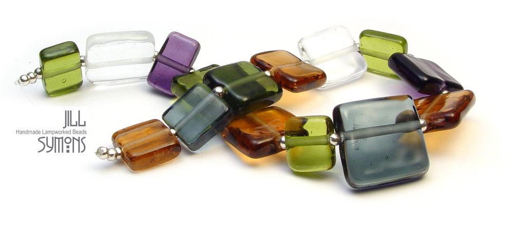 City Sleek Transparent Tab Bead Set - $95