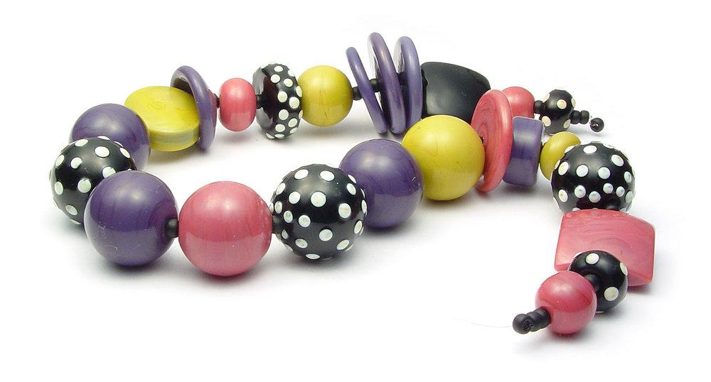 JillSympons.com Lampwork Spring Fun Bead Set - $135