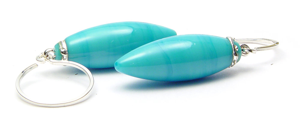 JillSymons.com Lampwork Beauty Earrings - $50