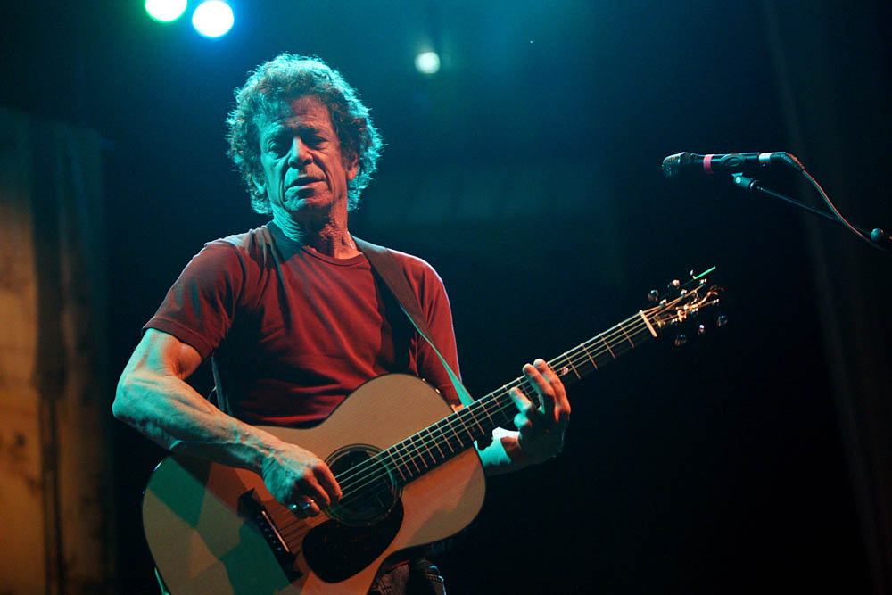 Lou Reed live in Lisbon. 2008