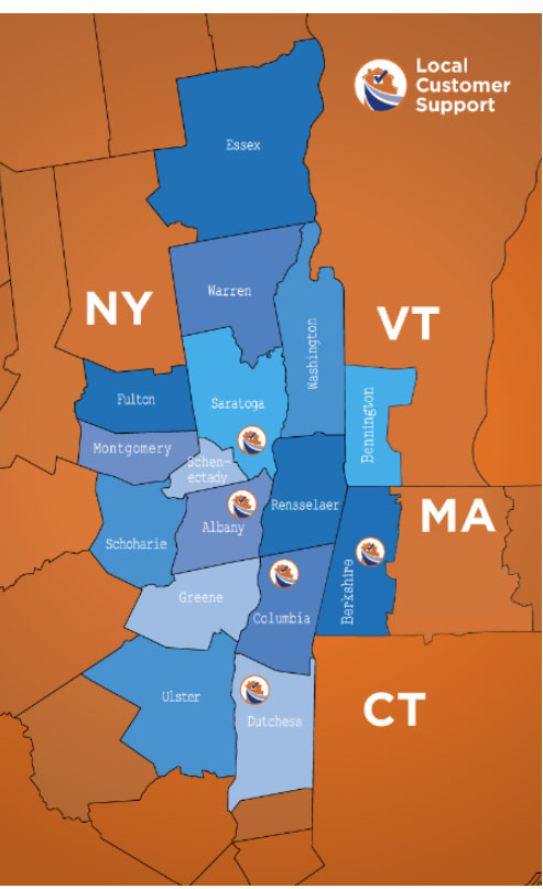 Certified Water Smoke and Fire covers 16 counties in central New York, western Massachusetts, and southern Vermont. When your disaster happens, we will get there...quickly. Our teams mobilize throughout our coverage area to provide exceptional service to our customers 24/7. Life happens. That's why we're here for you.