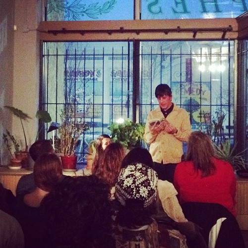 Jason finished his mini-tour of the Midwest with a reading at   DittoDitto   in Detroit, Mi, on January 31st. It was a great crowd. Detroit really has it going on, at least according to the author.