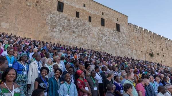 Attendees of GAFCON 2018 together in Jerusalem