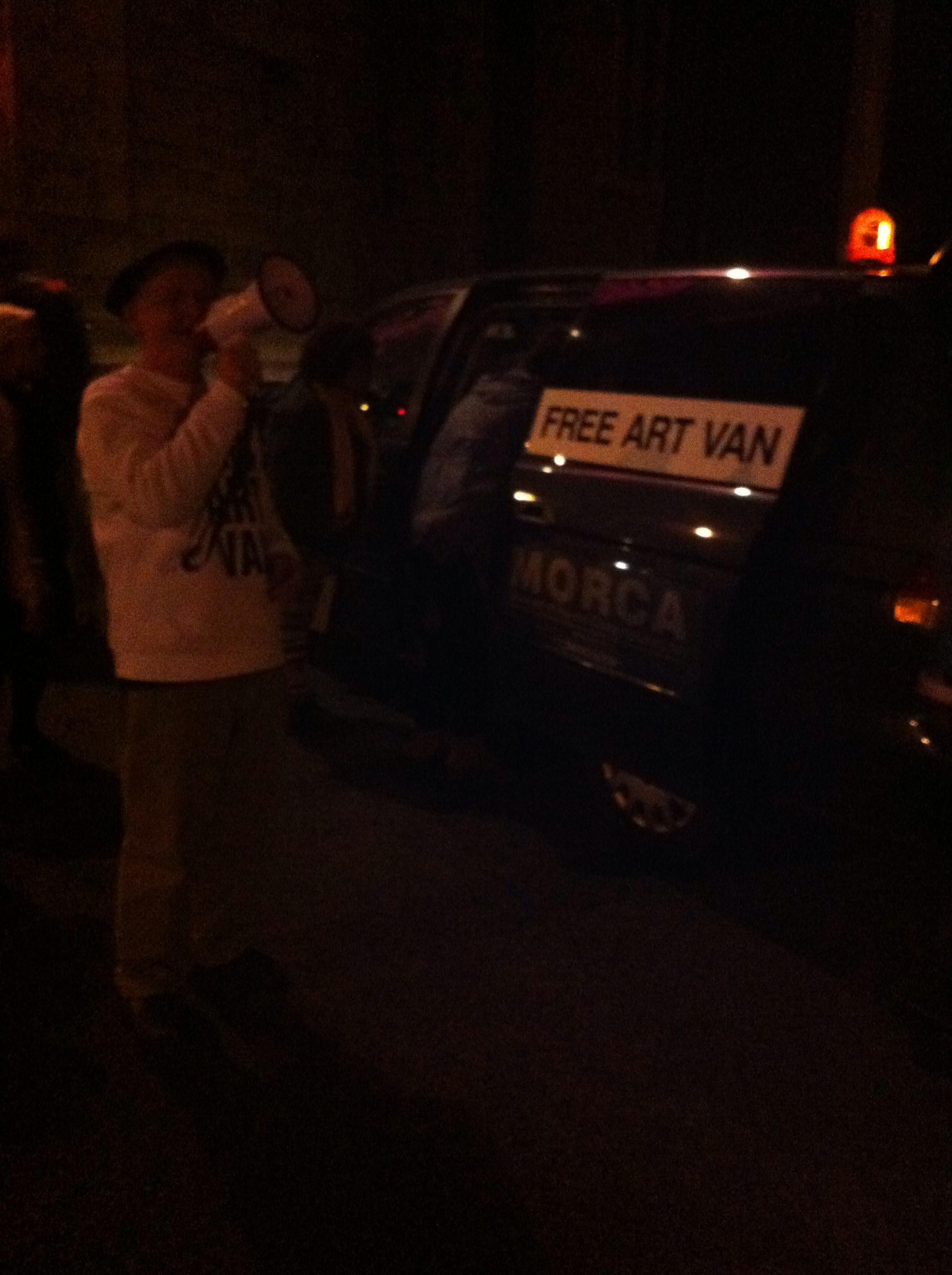 Rene's Free Art Van
