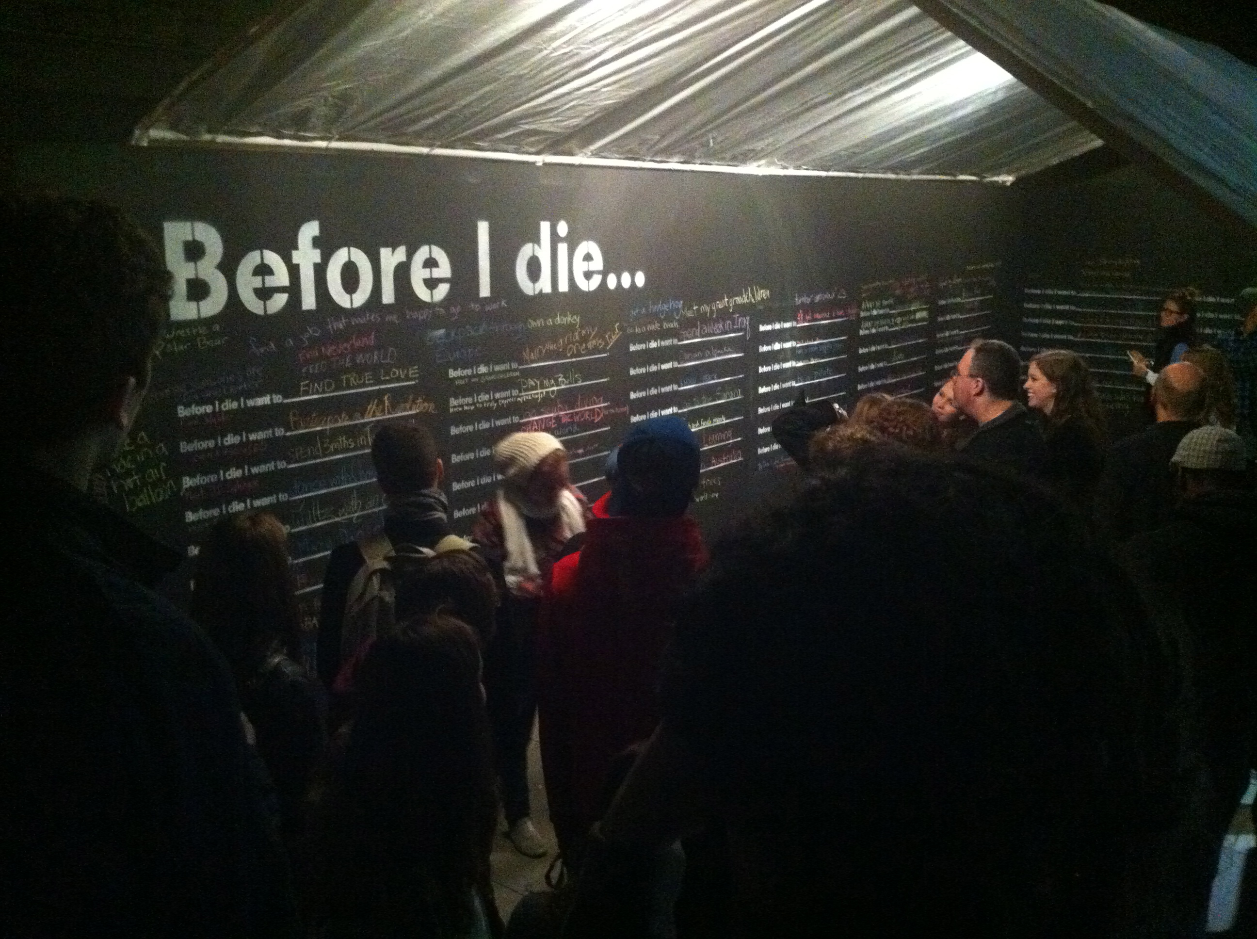Before I Die by Candy Chang #NBO12