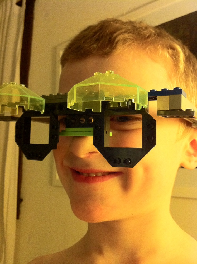 Sam's Lego Night Vision Goggles