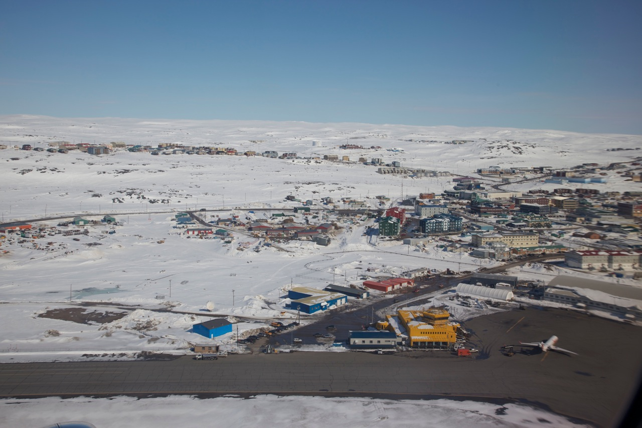 I left my iquuq in Iqaluit