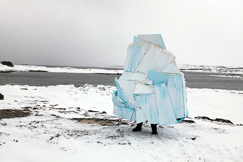Katie Bethune-Leaman,  Iceberg for Fogo Island When There are None
