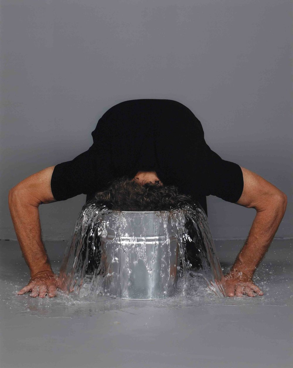 Max Dean, Bucket Head, 2010, printed 2011, Dye Coupler print, 52.3 x 41.8 cm; image 50.9 x 40.6 cm National Gallery of Canada, Ottawa