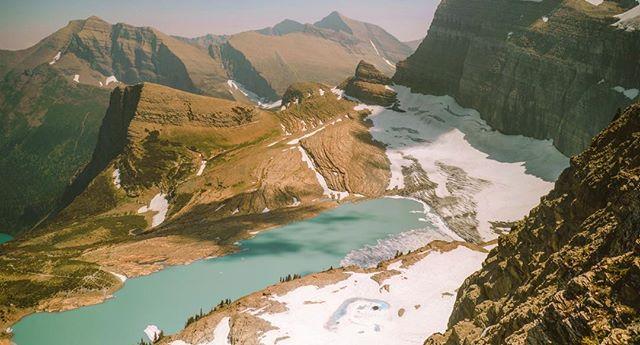 glaciers in glacier evaporating