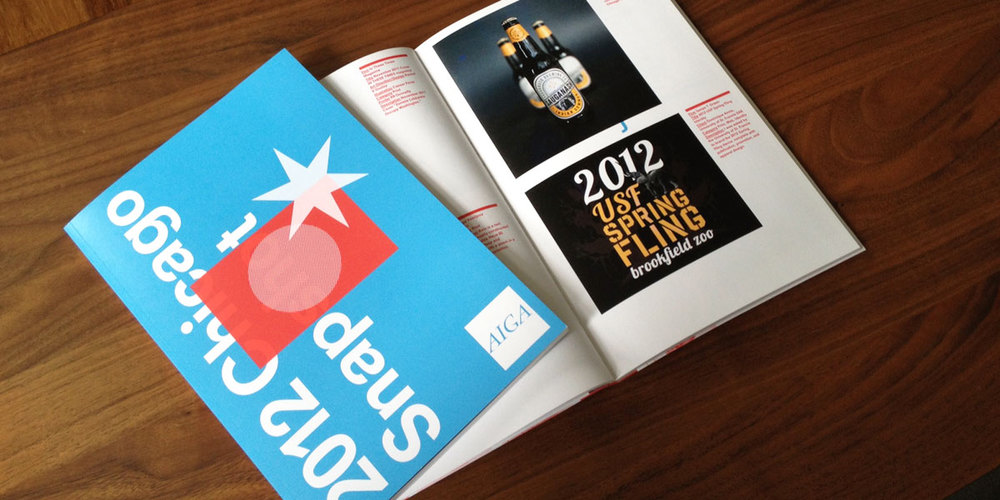 AIGA's 2012 Chicago Snapshot publication