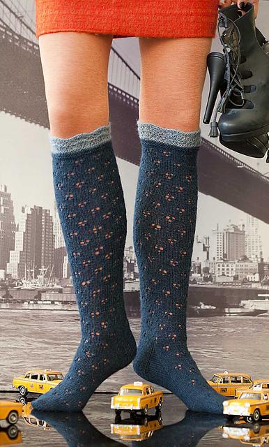 #32 Eyelet Socks