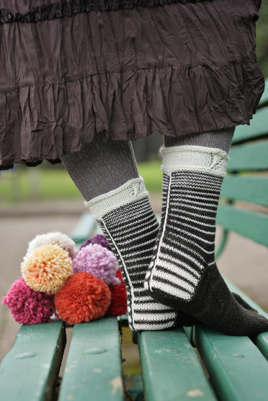 Tree Rings Socks