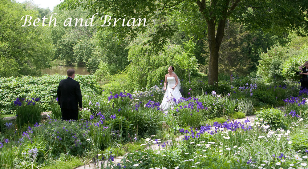Beth and Brian meet at the Henry Ford Estate