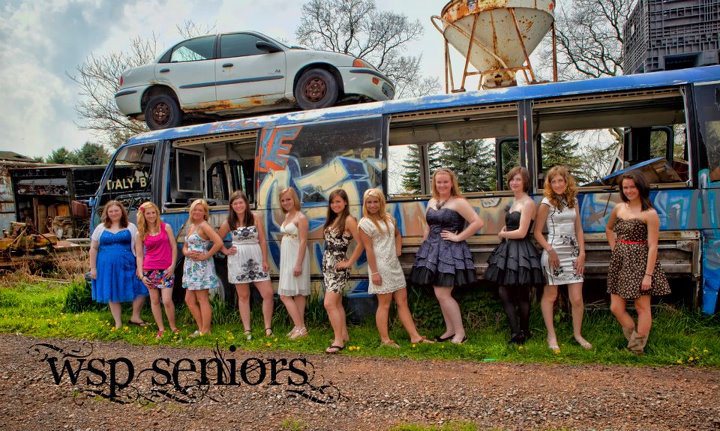 2012 models ny the bus in Junkyard.