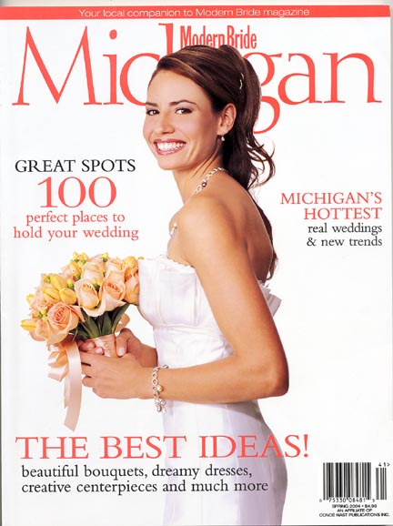 2004 published images in bridal magazines