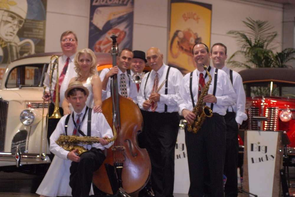 live swing jazz  dixieland music
