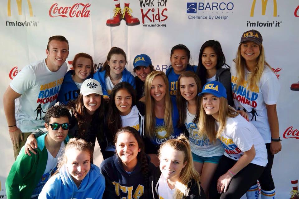 BRMHC Members at Walk for Kids 2015