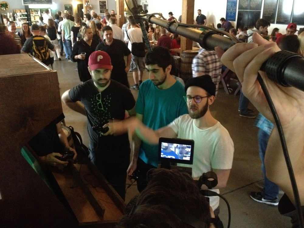 Field-1 , a game designed and built by NYU Game Center students has found a permanent location at the Brooklyn Brewery. It always has a line.