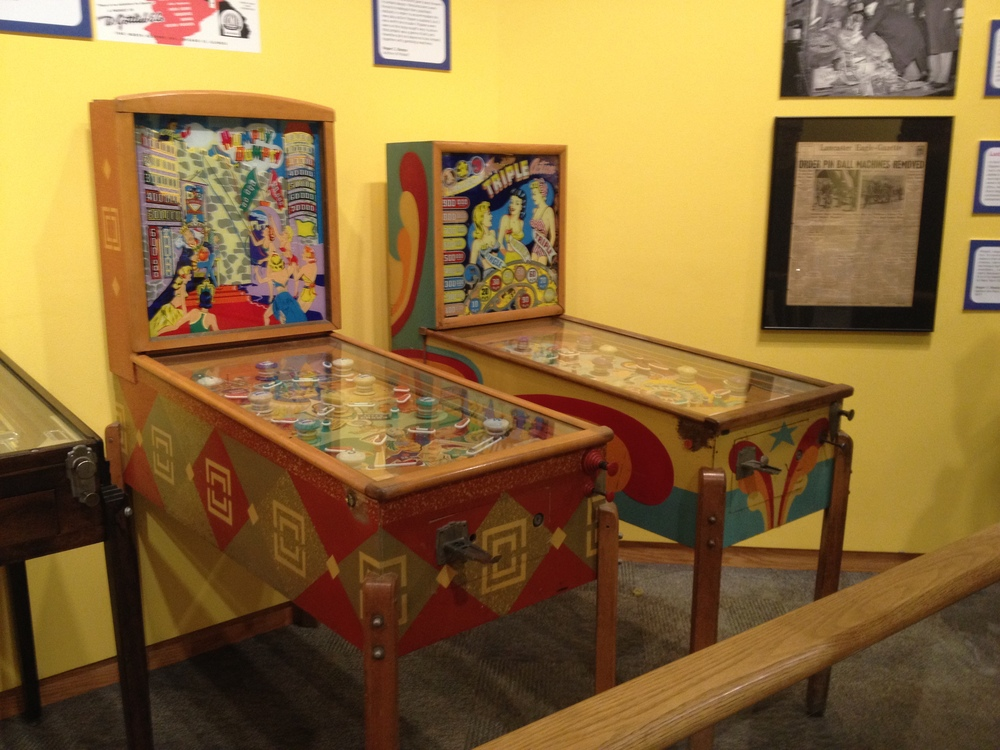 Preserved, original Humpty Dumpty pinball machine in the Boardwalk exhibit at the Strong National Museum of Play, Rochester, NY.
