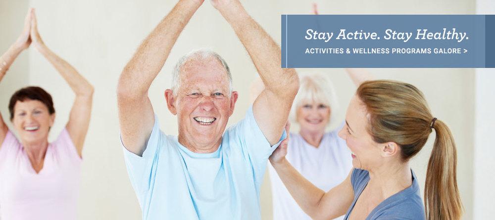 Senior Living Activities & Wellness