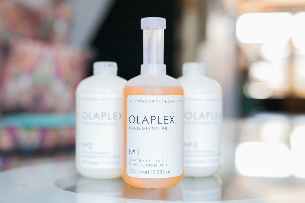 OLAPLEX   Rebuilt your broken locks with our OLAPLEX treatment offered in salon