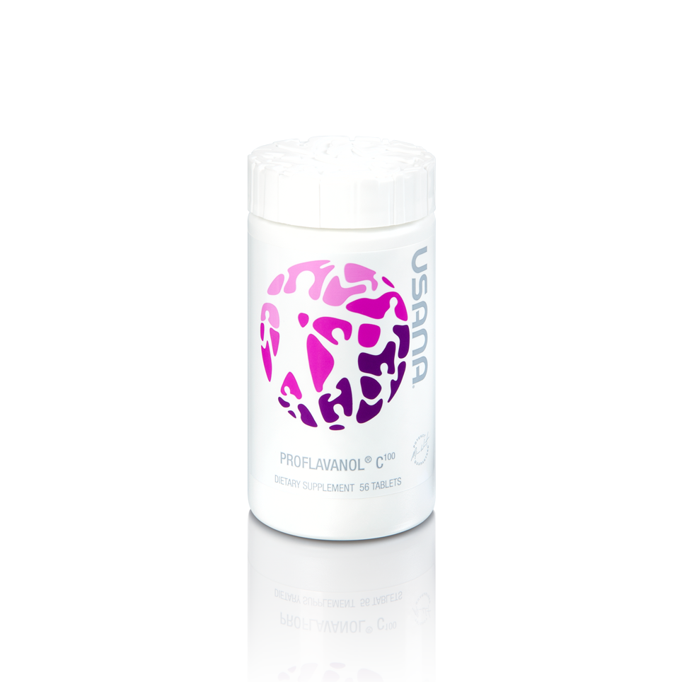 USANA Proflavanol   Hair By Bank's top cellular nutritional choice for beautiful skin and vibrant hair.  Proflavanol C100 is built to boost your body's cellular ability to repair oxidative stress and support healthy collagen formation.