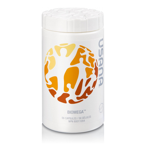 USANA Biomega It is no secret that fish oil works wonders for hair vitality.  One thing we are cautious of when choosing a brand is their product.  A lot of fish oil supplements are oxidized, and actually cause more harm than good.  We love this one because it is pharmaceutical grade and 100% safe to use.  Ask us about a 10% discount in our salon.