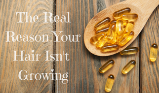 Hair By Banks Collaboration with USANA Health Sciences:  The Real Reason Your Hair Isn't Growing