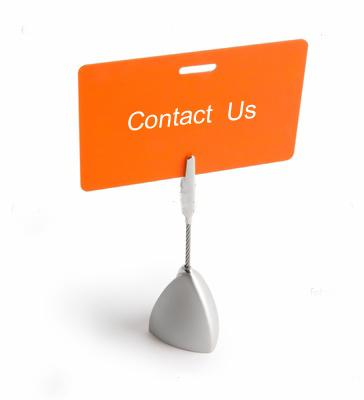 Contact us to arrange an appointment or if you have any questions