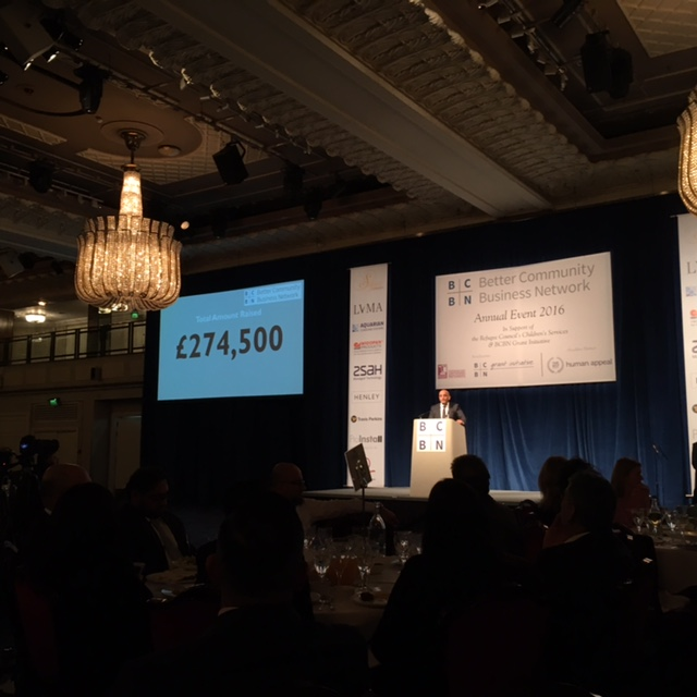 £275'000 pound was raised for the Refugee Council During the evening